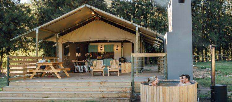 AfriCamps at Doolhof Wine Estate 10 Best Glamping Spots in the Western Cape
