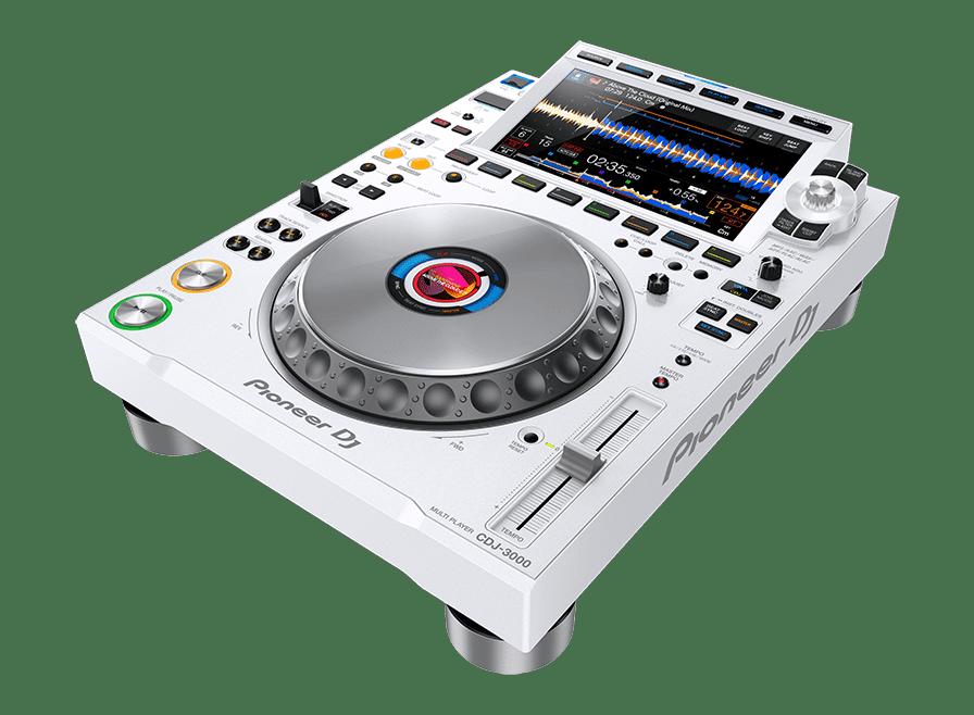 CDJ 3000 white