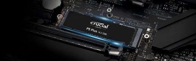 Crucial P5 Plus NVMe SSD