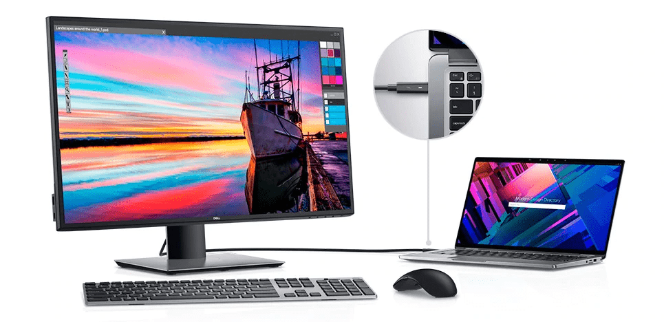 Dell U2720Q Best Computer Monitors for Music Production