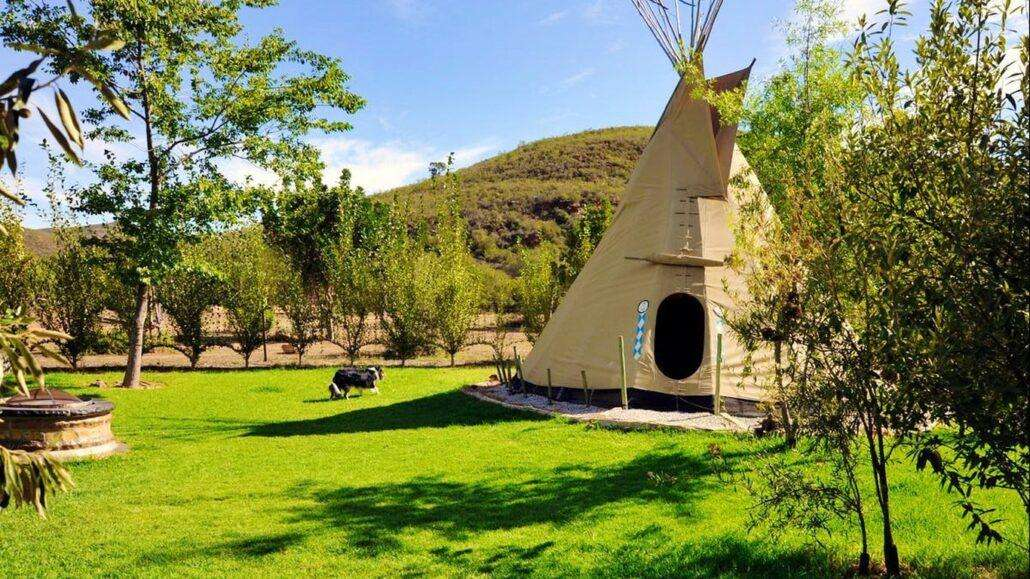 Lancewood Tipi Lodge 10 Best Glamping Spots in the Western Cape