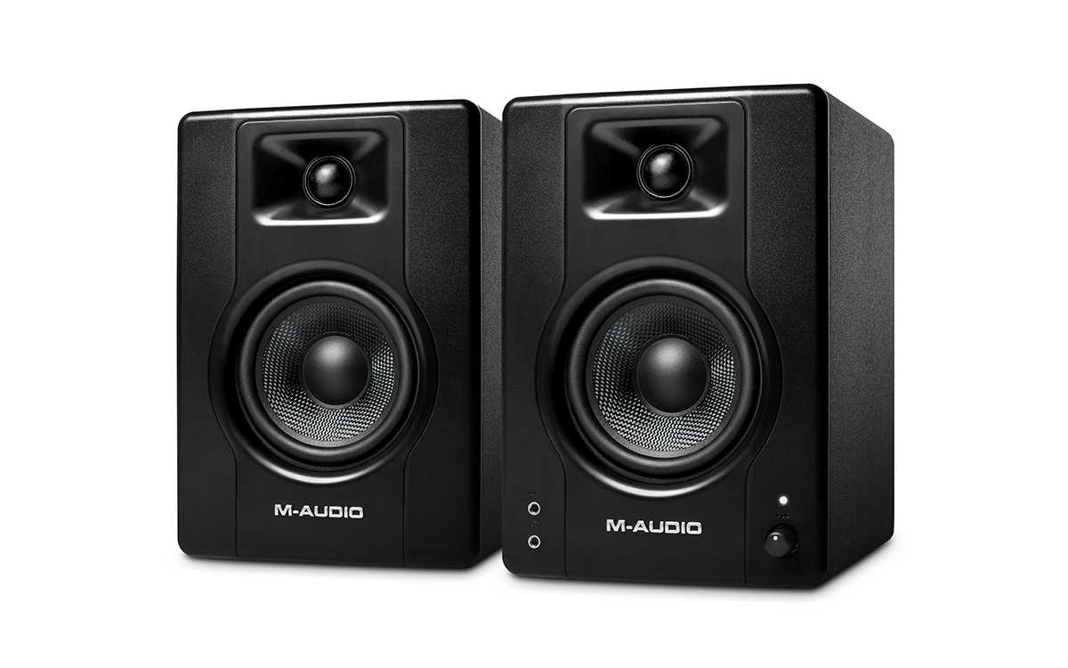 M-Audio launches budget-friendly BX3 and BX4 monitors