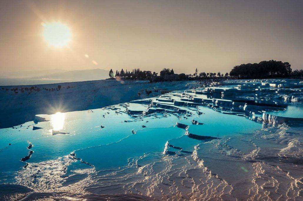 Pamukkale-Hot-Springs-in-Denizli-Turkey-1030x684 12 psychedelic looking places to visit