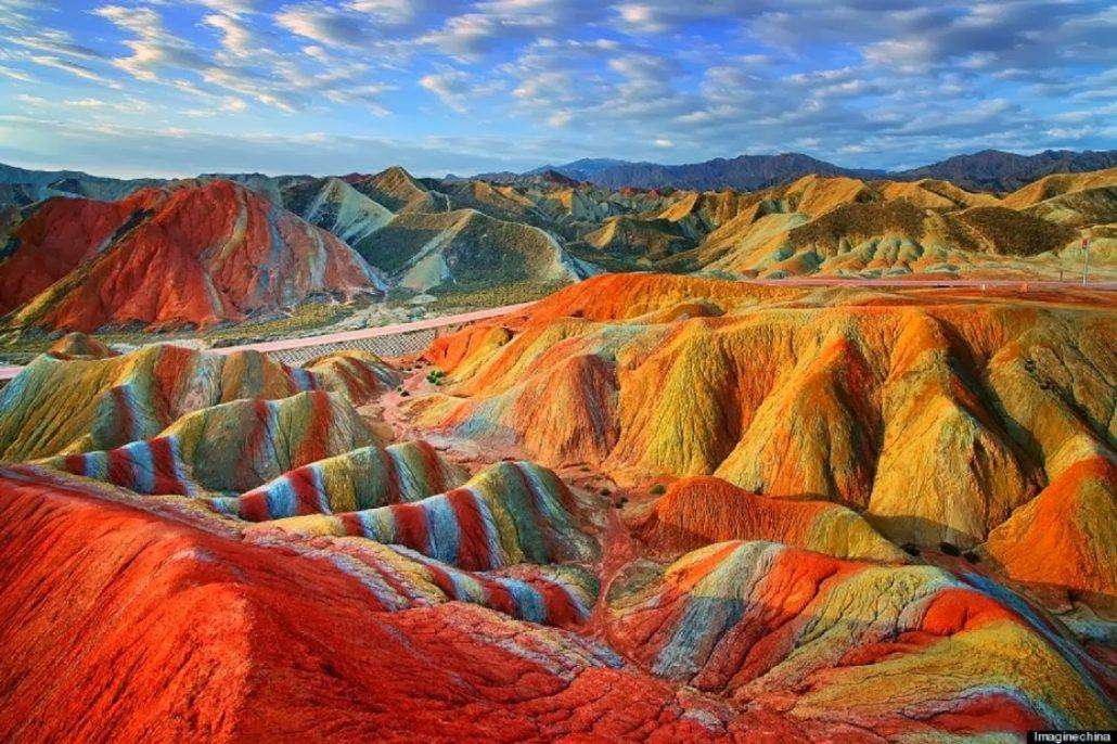 Zhangye-National-Geopark-in-Gansu-China-1030x686 12 psychedelic looking places to visit
