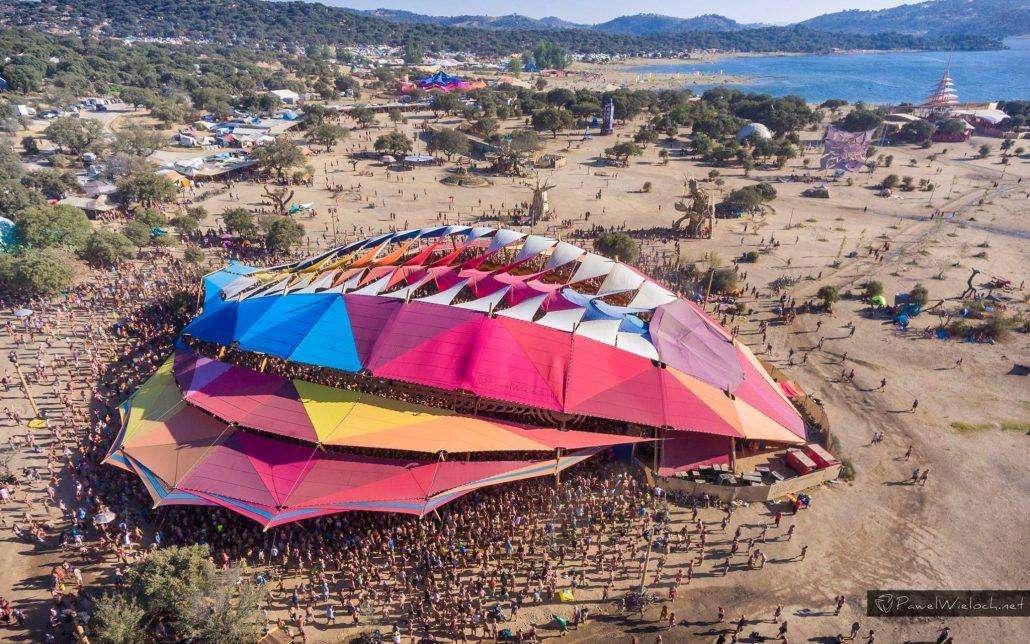boom festival overhead