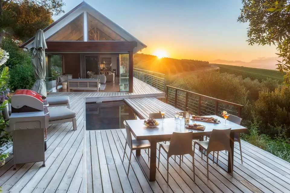 bush lodge luxury wine villa
