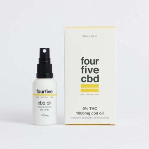 fourfivecbd 0% THC CBD Oil