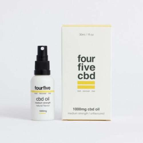 fourfivecbd CBD Oil 1000mg (High Strength)