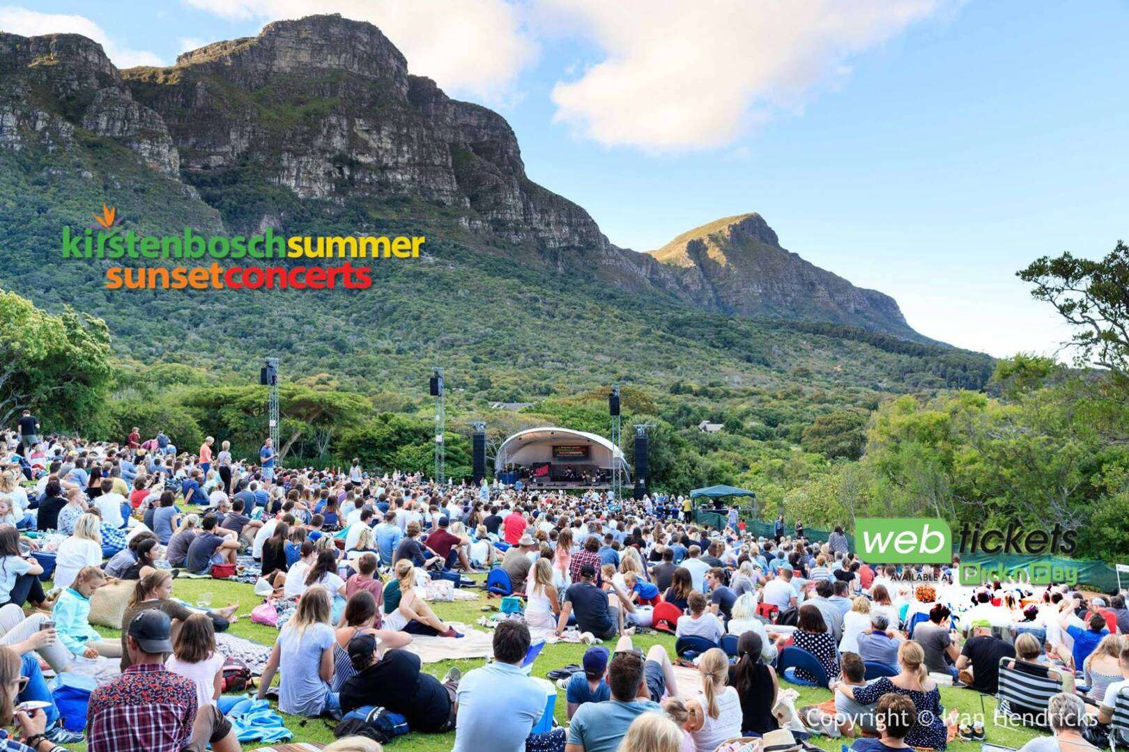 Kirstenbosch Summer Sunset Concerts suspended due to COVID-19