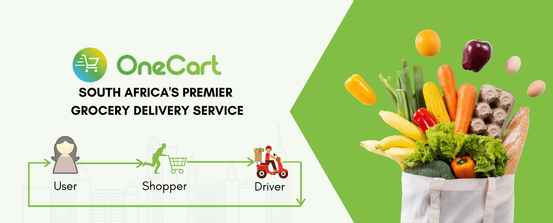 Get R50 off your first OneCart order