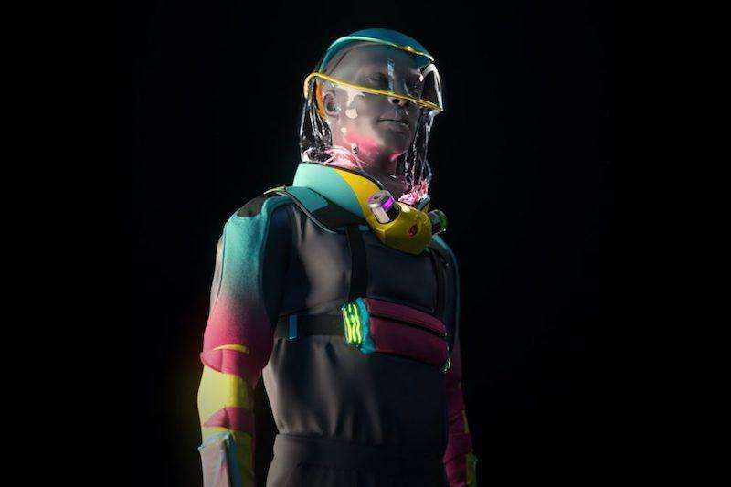 LA Creative Studio designs pandemic-proof raving suit