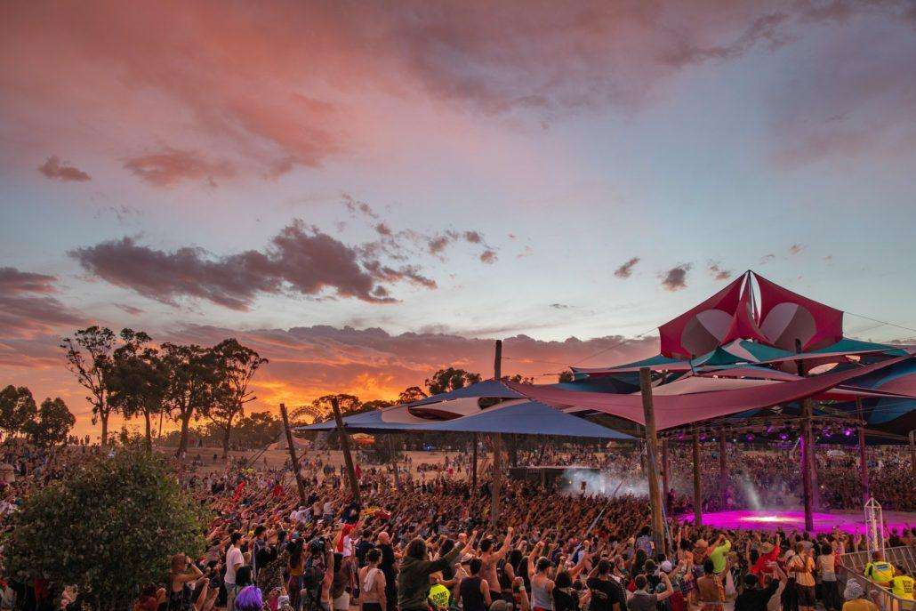 rainbow serpent festival sunsetr