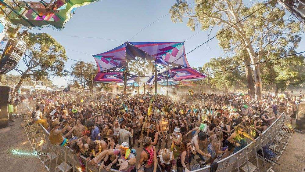 Rainbow Serpent Festival in Australia