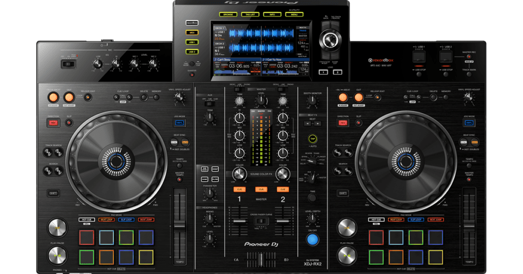 rx2 Best DJ Controllers (over $1000)