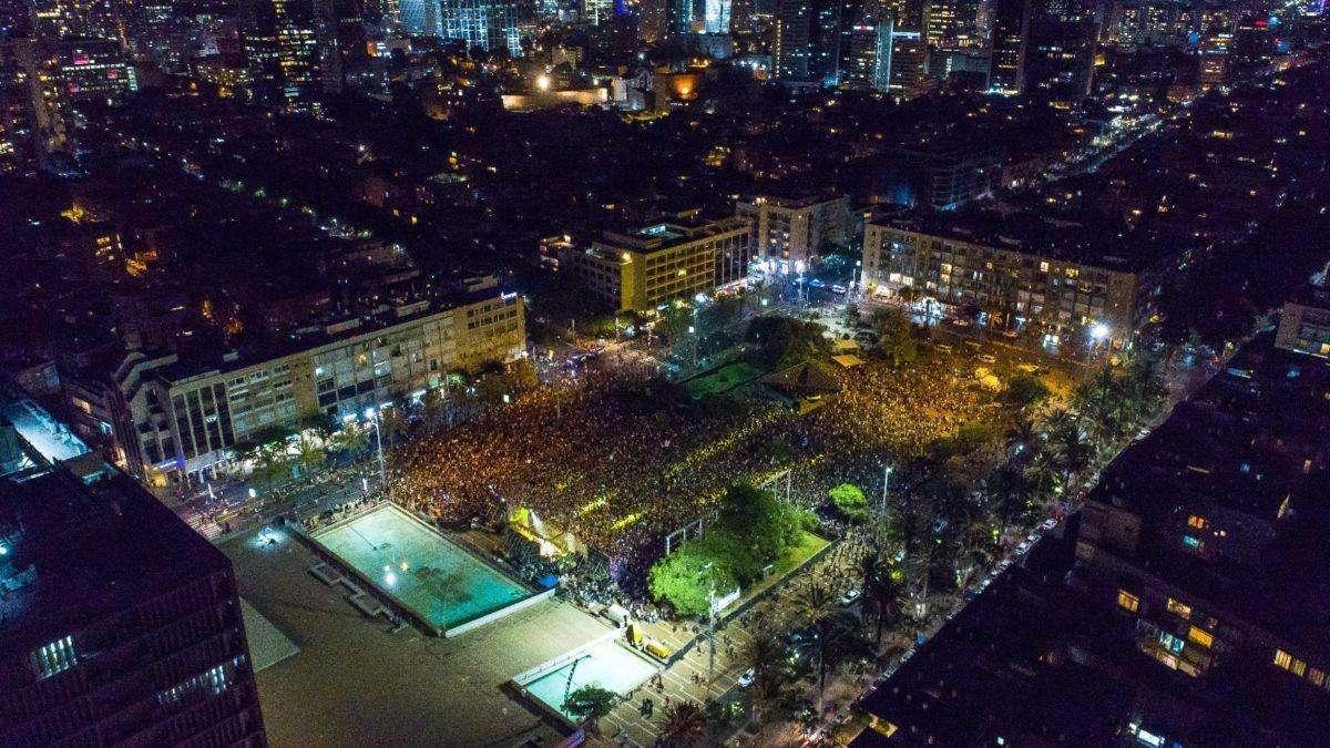 More than 50,000 Israelis protest in Tel Aviv over trance festival clampdown
