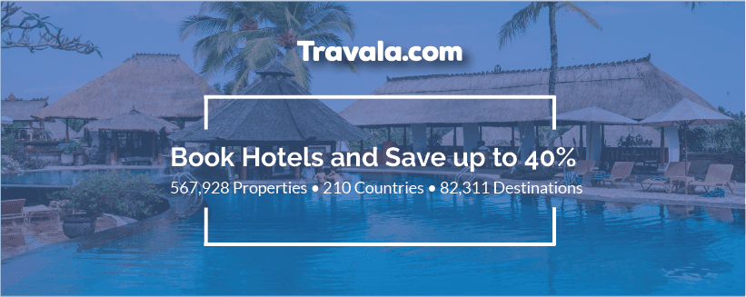 Free night accommodation with Travala.com