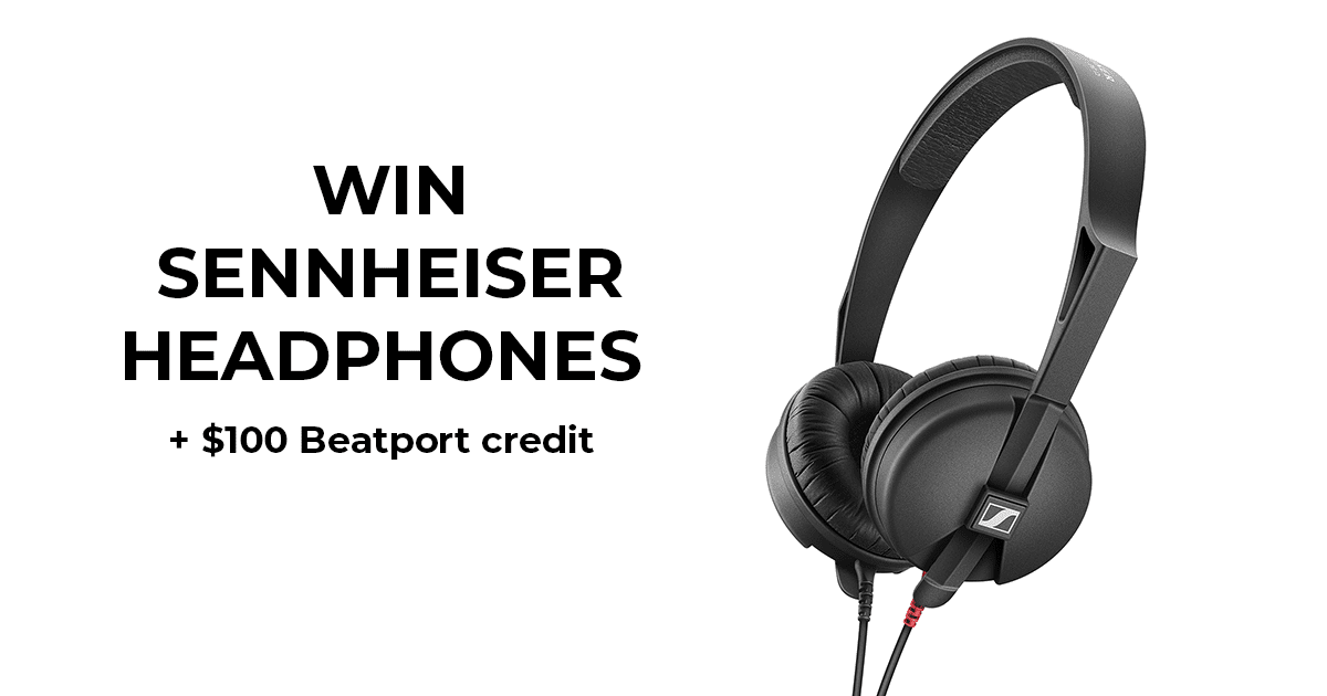 Win Sennheiser HD 25 Light Headphones + $100 Beatport credit