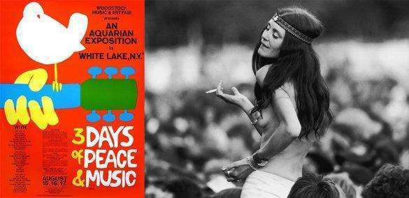 The crazy facts about Woodstock 1969